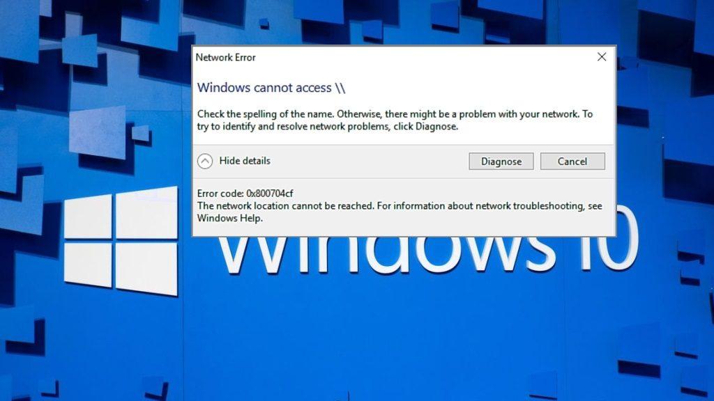 Activare Share în Windows 10 ultima versiune v.1709
