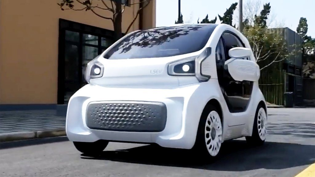 LSEV prima masină electrică printată 3D este pregătită pentru producția de serie